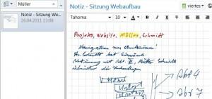 Evernote-handschriften