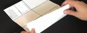 Origami-notizbuch