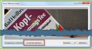 Webcam-notiz