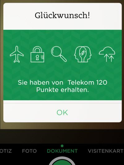 120 weitere Bonuspunkte von der Telekom? – Evernote für Pfiffige